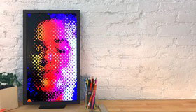 LCD Display for Art (WiFi)